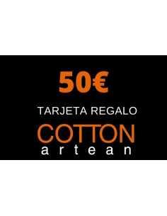 tarjeta regalo 50 € cotton artean