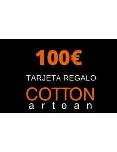 tarjeta regalo 100 € cotton artean