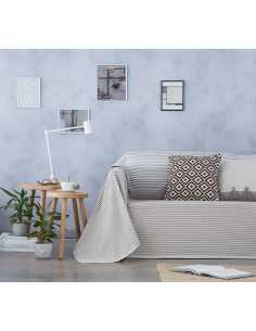 multiusos cubre sofa beige natural