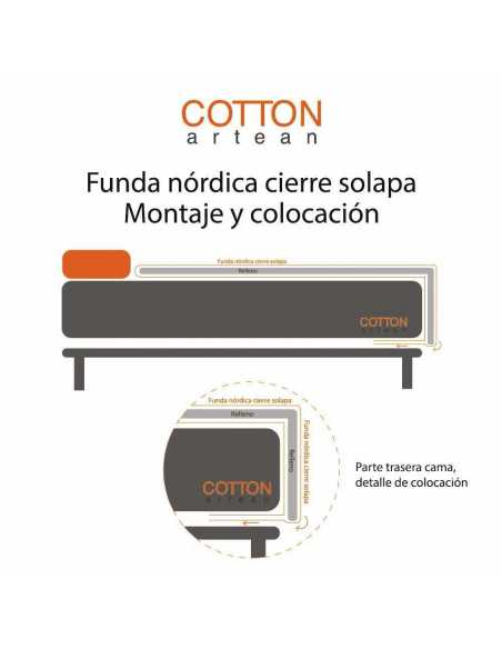 colocacion funda nordica lana