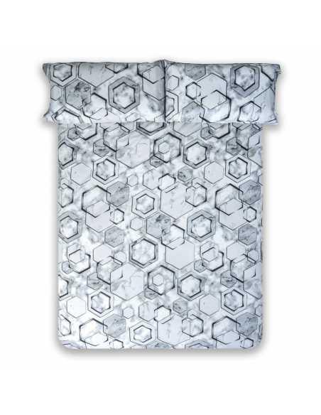 funda nordica gris marmol aerea