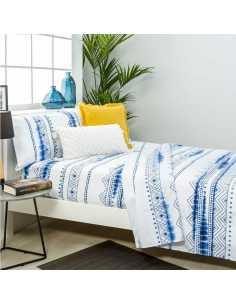 sabana ifach azul y blanca