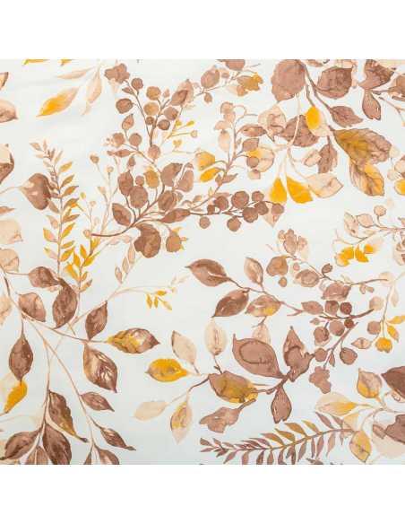 detalle estampado sabana serella beige