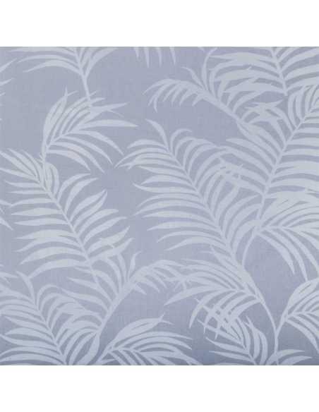 detalle sabana algodon organico gris