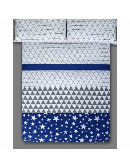 sabana azul y gris triangle azul