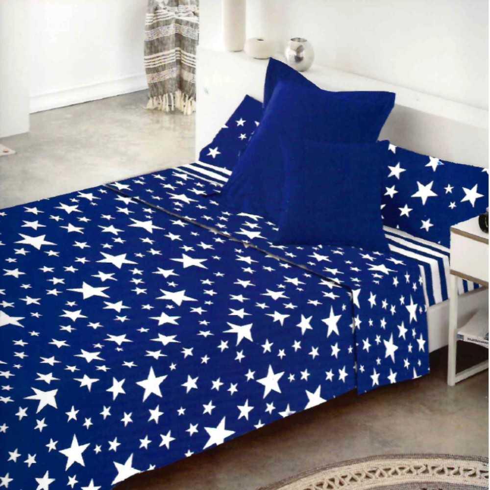 juego de sabanas givette azul estrellas