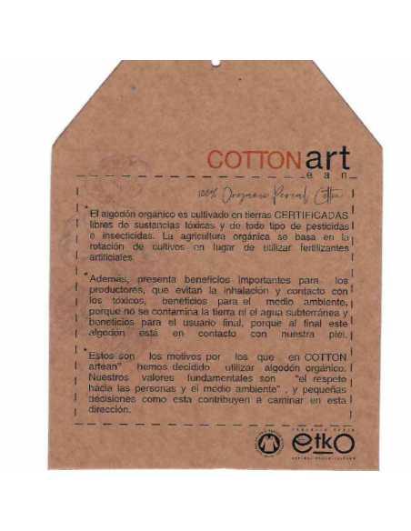 certificado algodon organico beige