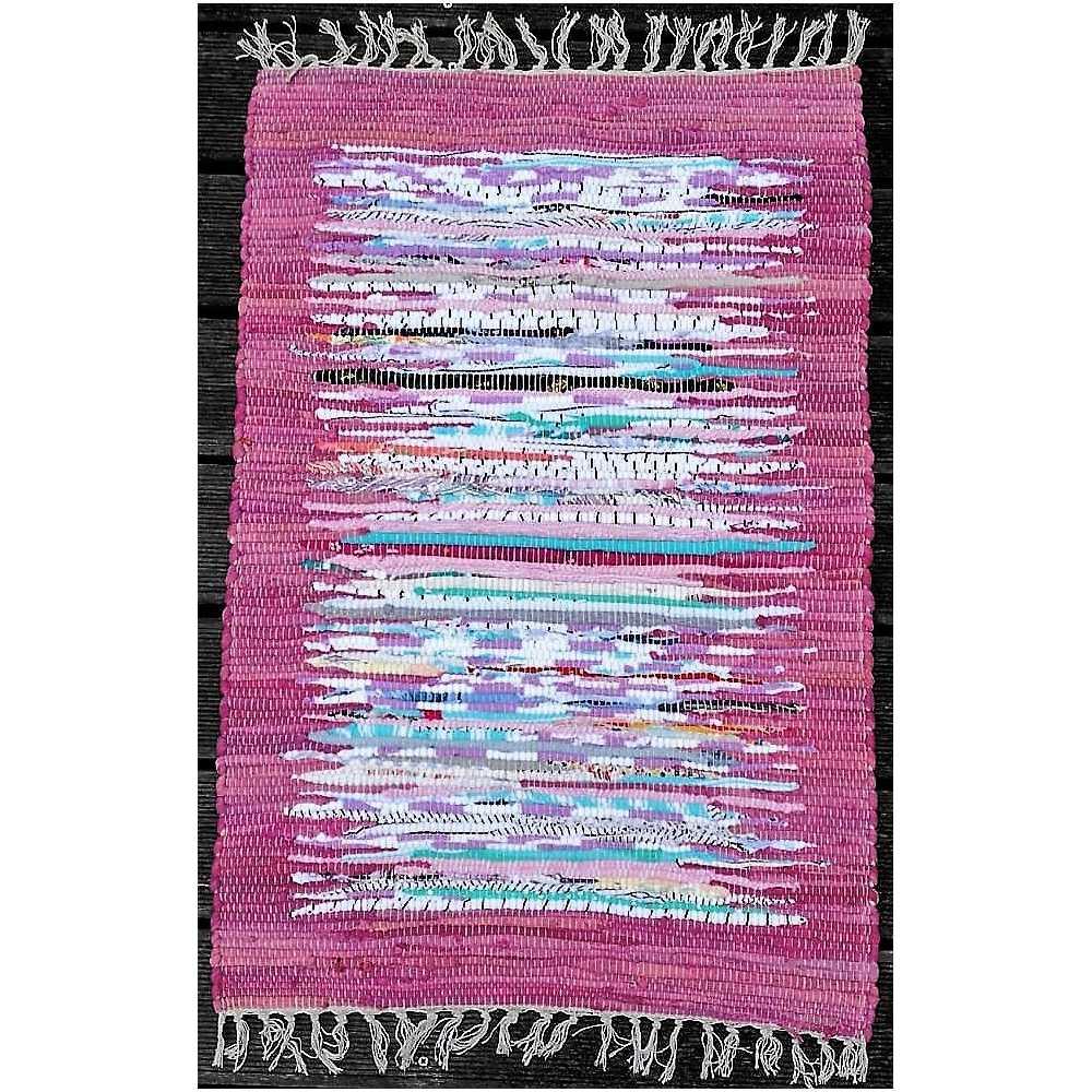 alfombra reversible color morado